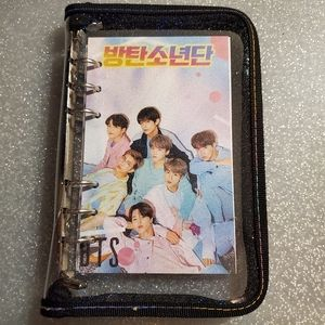 BTS zip up planner
